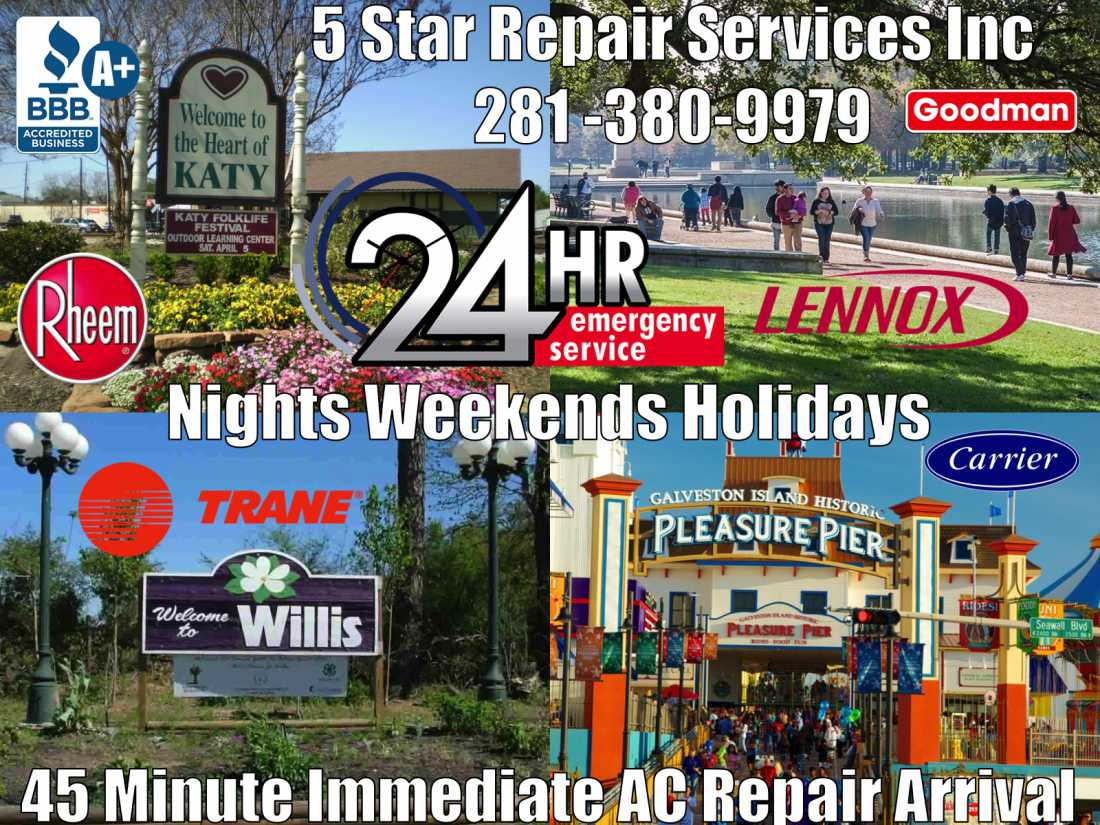 24 Hour AC Repair Katy Tx Cinco Ranch