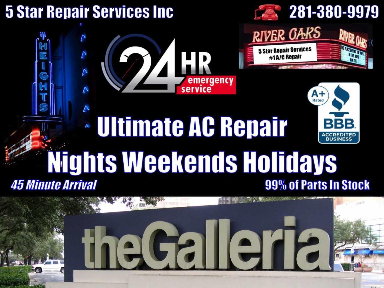 galleria tx 77056 - 24 hour ac repair