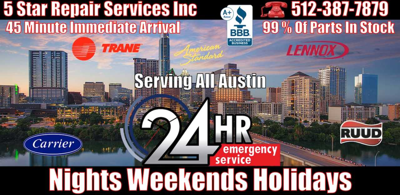 24-hour-ac-repair-Dripping Springs Austin 78620 78737