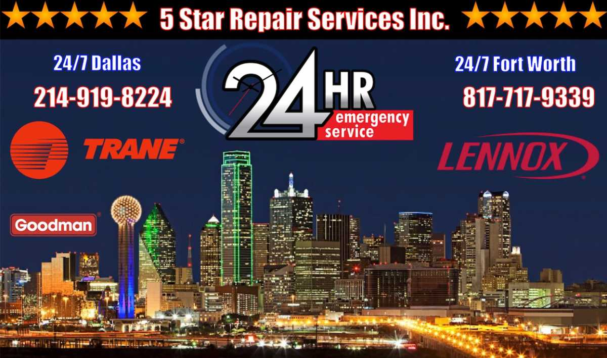 24-hour-ac-repair-Euless Dallas Fort Worth 75062 75261 76039 76040 76155